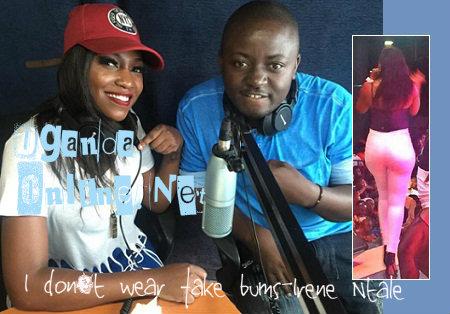 Irene Ntale at Dembe FM's studios
