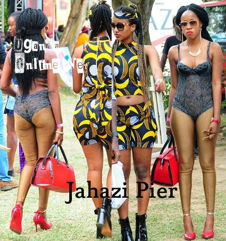 Carnival fashion at Munyonyo - Jahazi Pier