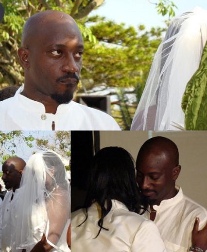 Gaetano and Enid on their wedding day