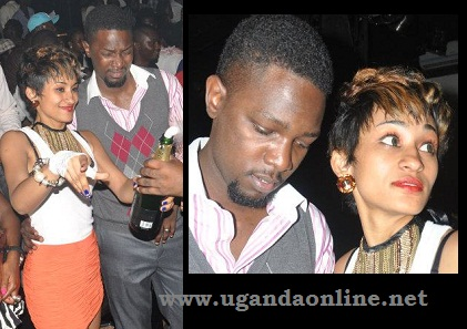 Nickita and Gareth Onyango