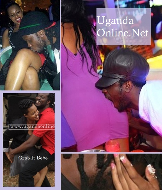 Bebe Cool and Zuena's public displays of affection