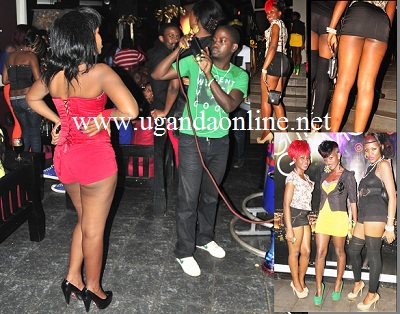 Revellers at the last Glitz and Glamour night