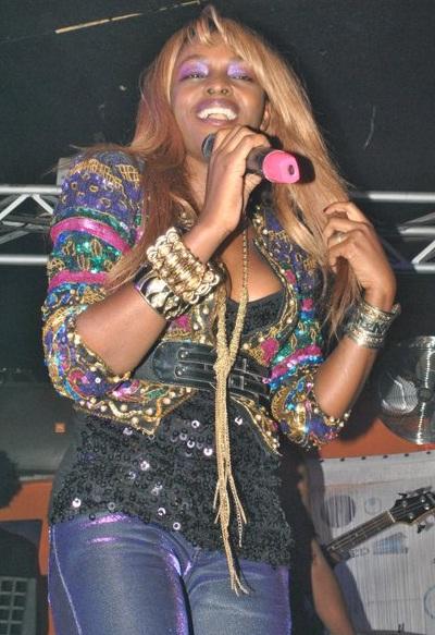 Grace Nakimera at Club Silk