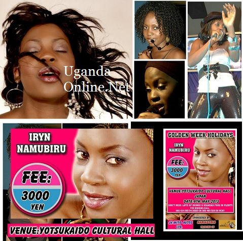 Uganda pop star, Iryn Namubiru held in Japan