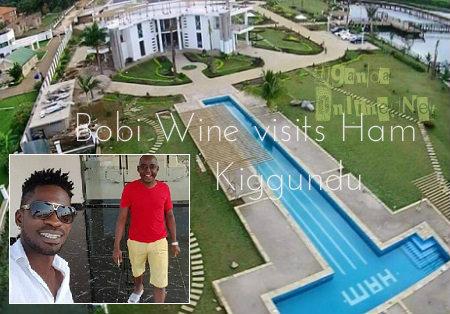 Bobi Wine visits Ham Kiggundu