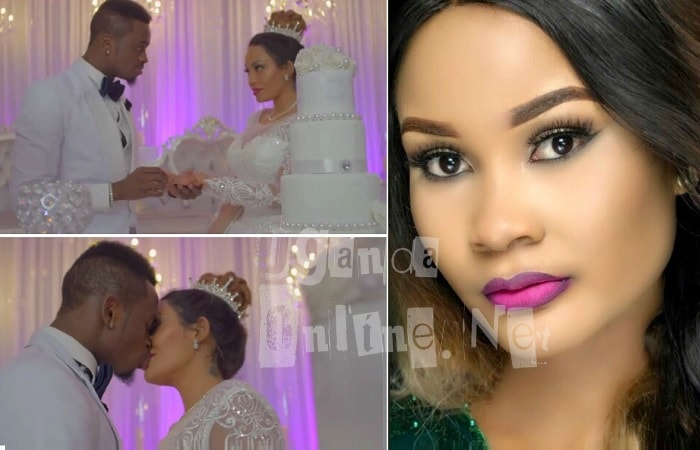 Diamond Platnumz weds Zari in the Iyena video