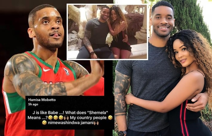 Hamisa Mobetto's new lover is an NBA basketball player