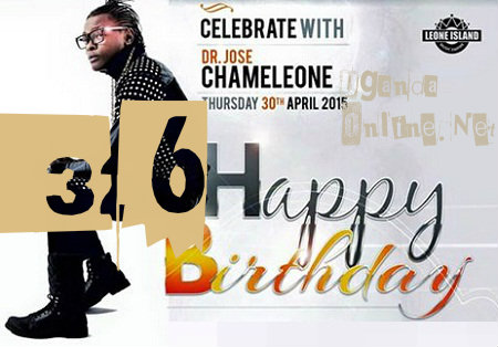 Jose Chameleone turns 36