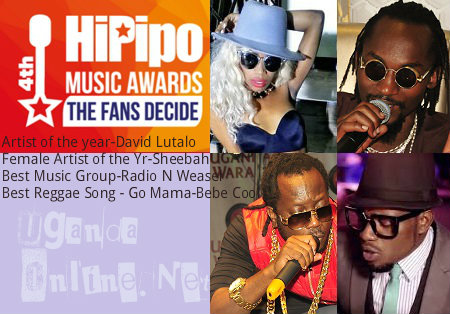 Winners of the 4th Hipipo music awards