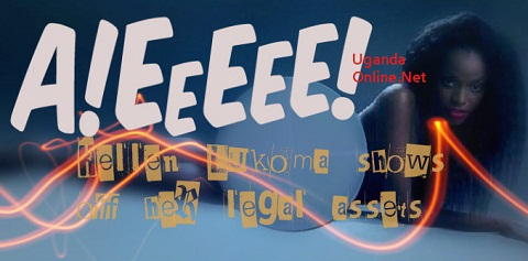 Helen Lukoma shows off her legal assets