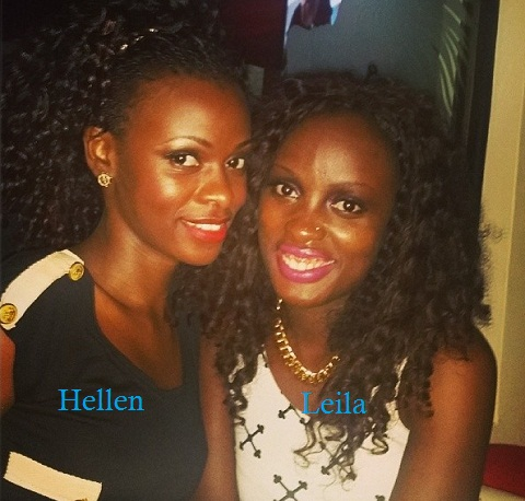 Hellen and Leila at Guvnor recently