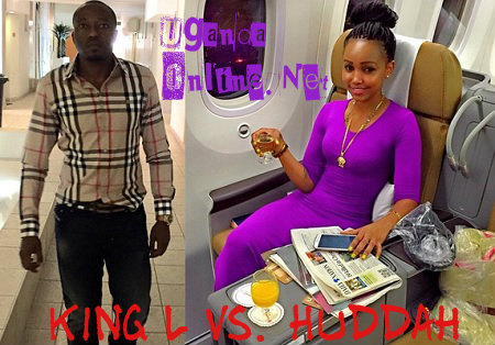 Huddah Monroe and King Lawrence at it