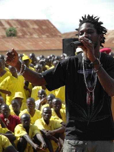 Bobi Wine at Luzira Prisons