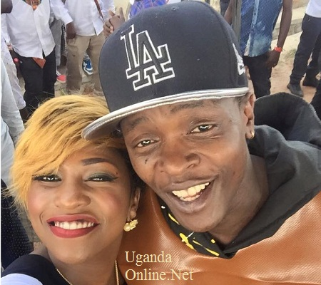 Irene Ntale and Jose Chameleone