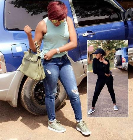 Irene Ntale in a Twelageko mood