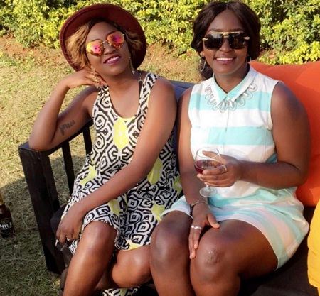 Irene Ntale and Winnie Nwagi