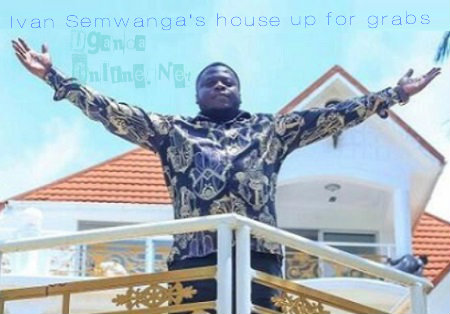 Ivan strikes a pose at his house that has been listed on the market
