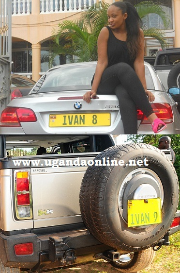Ivan's BMW and the Hummer that became his after Zari turned it down