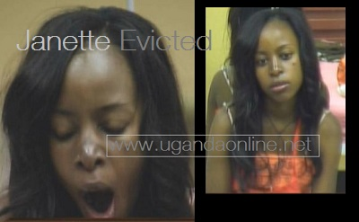 Jannette evicted from the Big Brother Stargame House