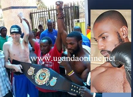 Uganda's Sharif Bukenya loses to Finland's Jarkko Jussila