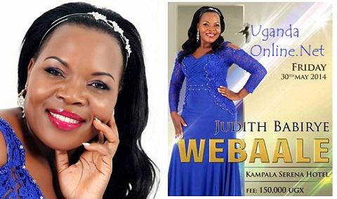 Judith Babirye's Webale Concert flops