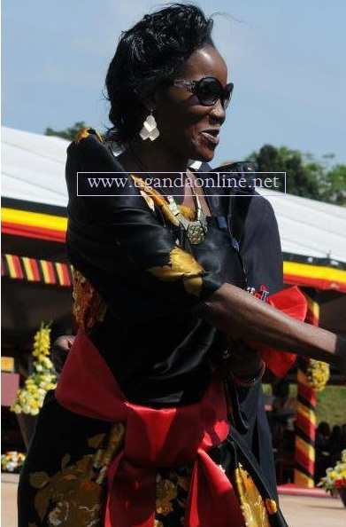 KCCA's Jenipher Musisi during the 50th Anniversary celebrations