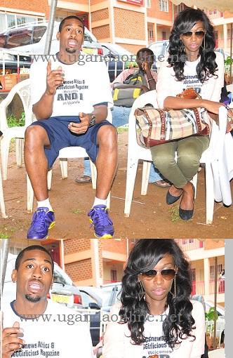 Judith and Spyda at YMCA in Kampala
