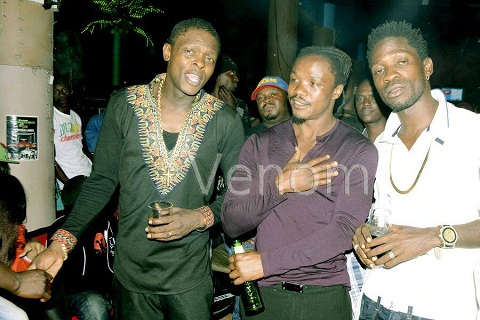 Jose Chameleone, Kassim Ouma and Bobi Wine