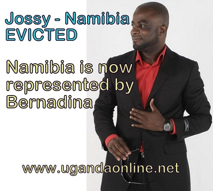 Namibian Jossy Joss is the first housemate to be evicted from the Big Brother Amplified