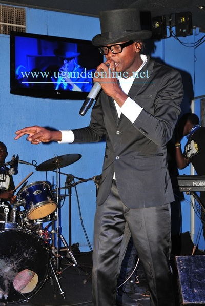 Jose Chameleone performing at Club Silk