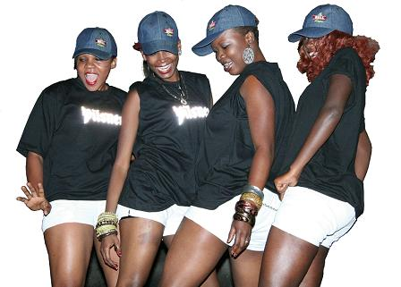 Juba Babes at Lady Mariam's Show in Southern Sudan