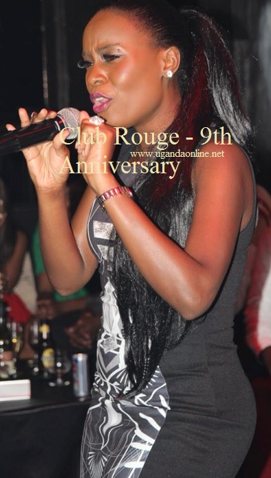 Julina performing during the Club Rouge 9th Anniversary