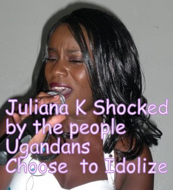 Juliana Kanyomozi shocked by the people Ugandans choose to Idolize