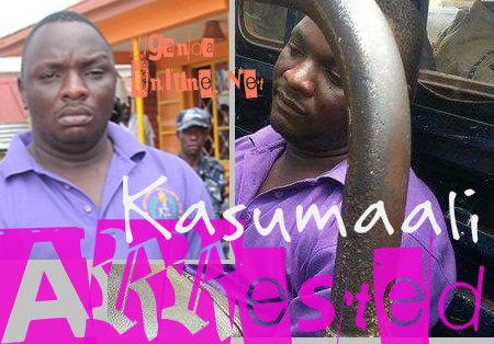 Ongom Kizito aka Kasumaali arrested