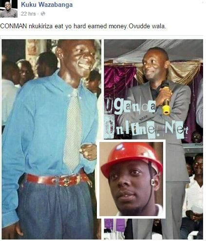 Kasuku on Pastor Bugembe's case