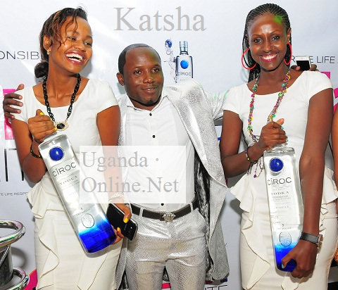 Katsha at the All White Party