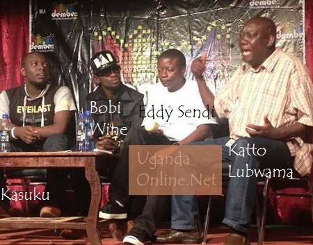 Katto Lubwama spitting fire at the live show
