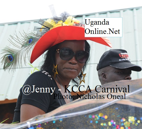 KCCA's Executive Director JKenipher Musisi at the carnival