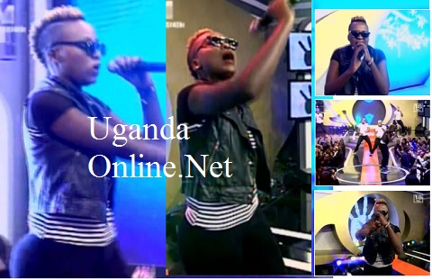 Keko performing at the grand finale show
