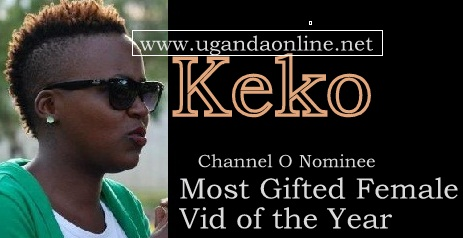 Keko is a nominee in the Channel O 2012 Music Awards