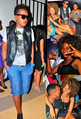 Keko and Sheebah at Rouge