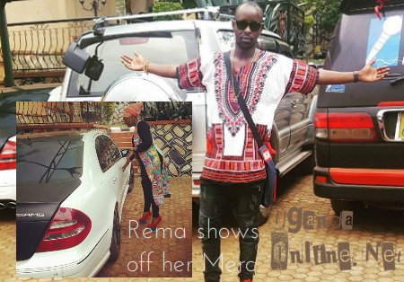 Kenzo and Rema show off their rides