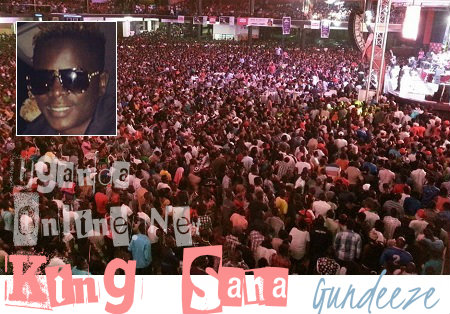 King Saha's Gundeeze concert was massive