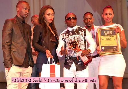 Kasha won two awards, Mr. Uganda, Best car owner and
