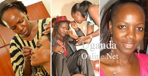 Brenda Nanyonjo doing what she does best