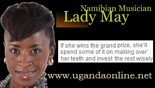 Musician Lady May from Namibia