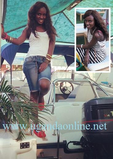 Leila Kayondo still enjoying her holiday