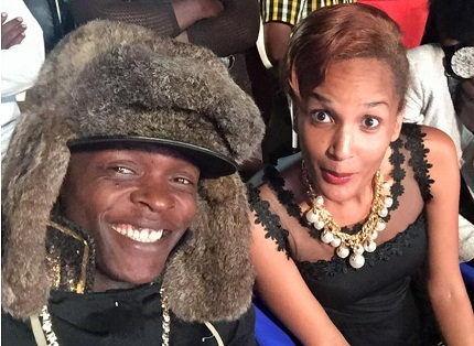 Chameleone and Daniella at Hotel Africana