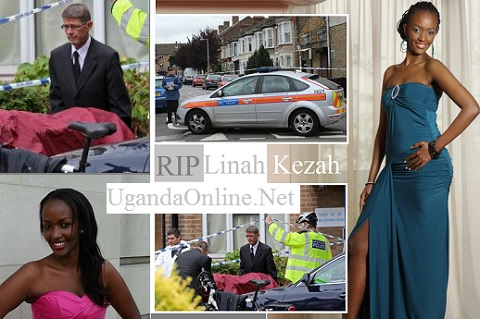 Police Officers in Leyton where Linah was pronounced dead