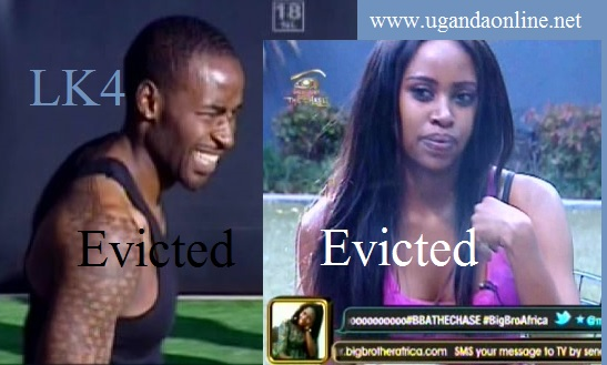 LK4 and Koketso evicted